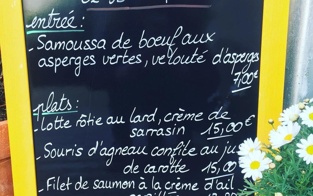À emporter ce midi ! Réservation au 0298374377 À tout à l'heure sous le soleil de l'Aber wrac'h 😉#lepotdebeurre #aemoorter #landeda #laberwrach #paysdesabers #platdujour #cuisinemaison #restaurant